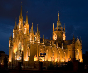 католический собор на грузинской